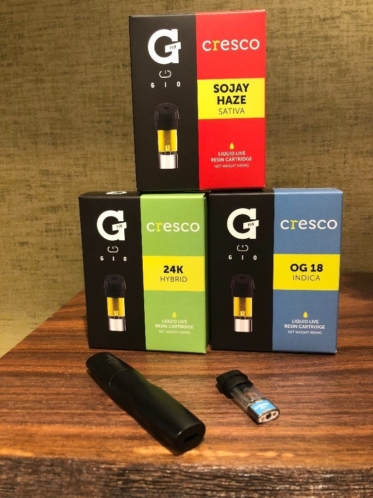 The new GPen Gio from Cresco! Compatible cartridges are