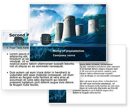 Natural Disaster Powerpoint Template With Natural Disaster Powerpoint Background For Presentations Is Ready Natural Disasters Powerpoint Templates Powerpoint