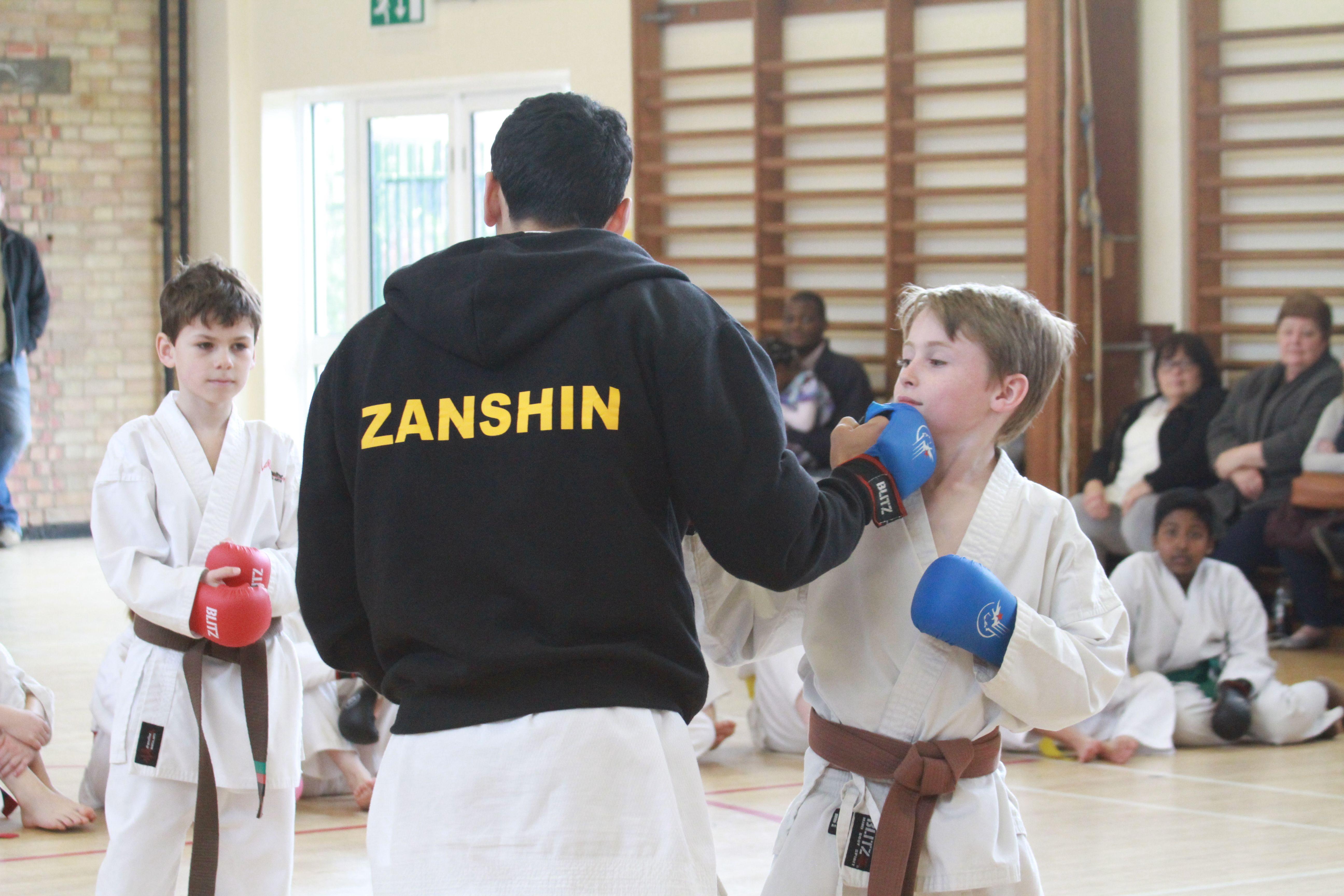 Some kumite tips from Sensei Marcus :)