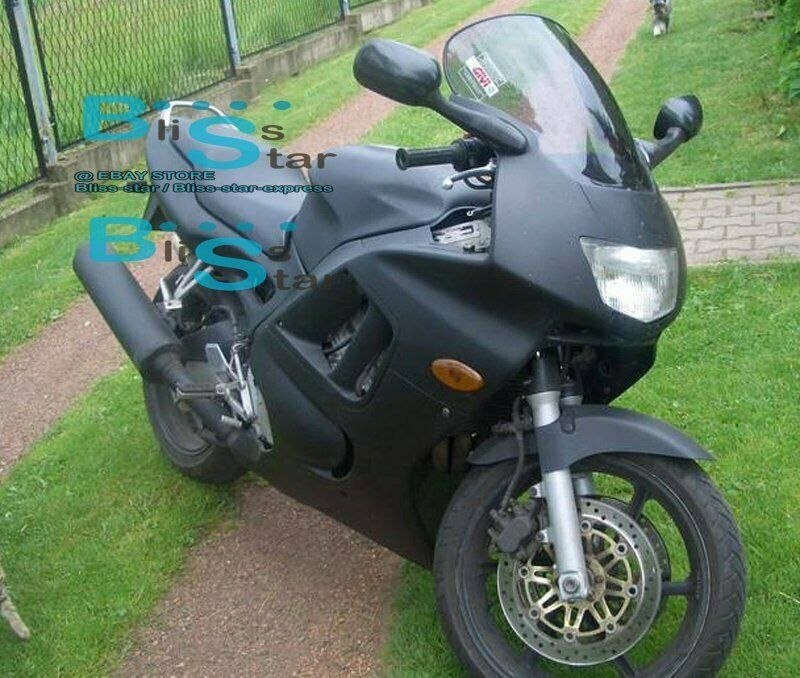 Ebay Sponsored Matt Black Injection Fairing With Tank Cover Fit Honda Cbr600f3 1995 1996 49 A2 Black Honda Honda Big Photo