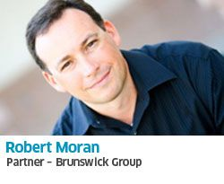 "Robert Moran is responsible for leading Brunswick Insight in the Americas.  Brunswick Insight is the Brunswick Group's research function. Robert is a published thought leader and frequent speaker on trends in the market research industry. His recent publications include authoring the final chapter in ""Leading Edge Marketing Research; 21st Century Tools and Practices,"" and ""The Shape of Marketing Research in 2021"" in the Journal of Adver-tising Research."