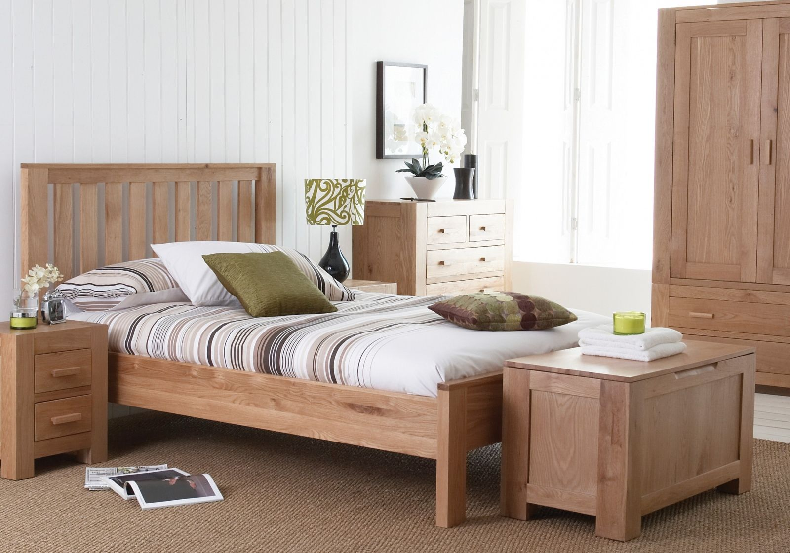 modern contemporary bedroom furniture fascinating solid. Wood Decorating Ideas For Fascinating White Themed Bedroom With Simple Brown Bed Frame That Have · Modern Furniture Contemporary Solid O