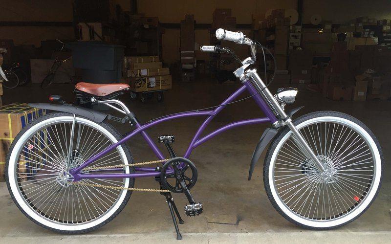 Beach Cruisers Bicycle Saddle Seat Black W//Flames Rear Guard Chopper Custom Bike