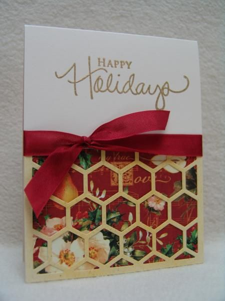 FS388 Golden Holidays by suen - Cards and Paper Crafts at Splitcoaststampers
