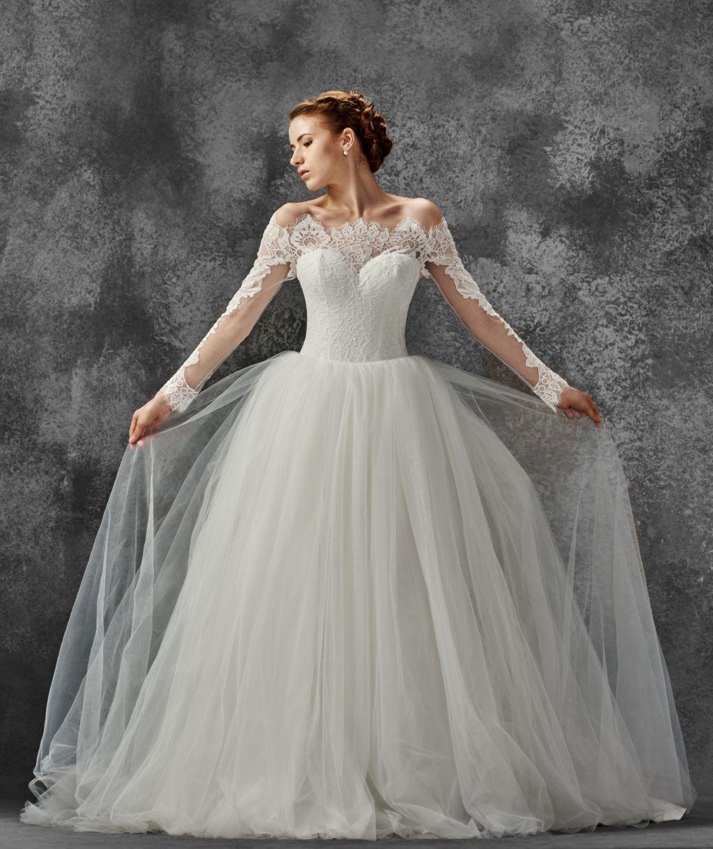 Beach wedding dress boho wedding dress romantic wedding dress by