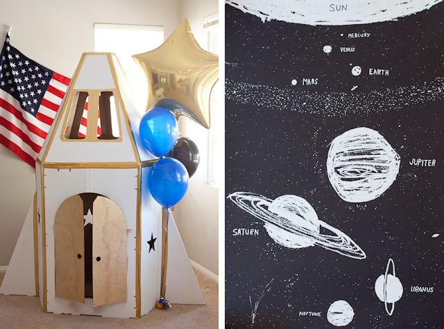 Astronaut Birthday Party Ideas
