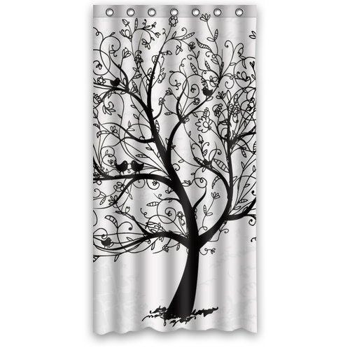 Tree Shower Curtain 36-Inch by 72-Inch Shower Curtains http://www ...