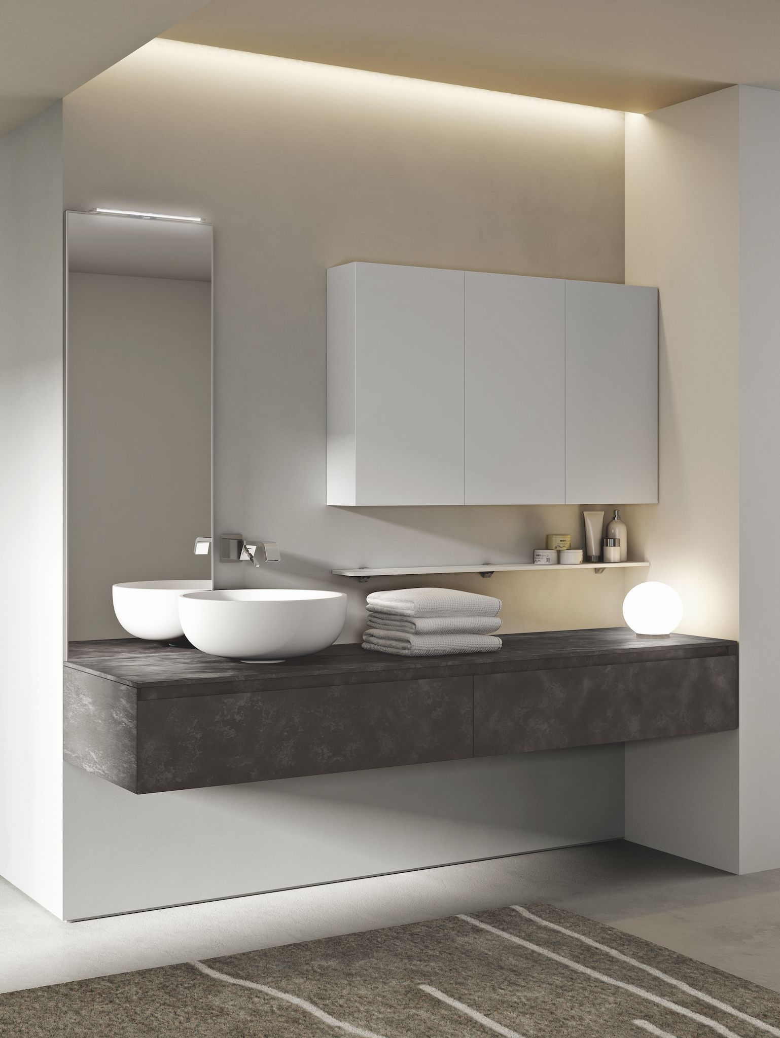 Cubik Bathroom Collection  Bathroom furniture modern, Bathroom