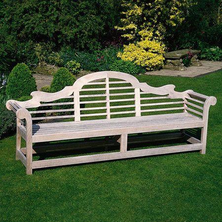 Lutyen Bench Teak Garden Bench Teak Bench Outdoor Daybed