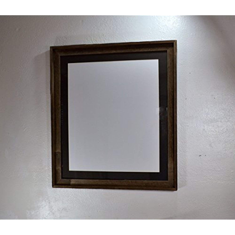 rustic wood poster frame 20x24 black