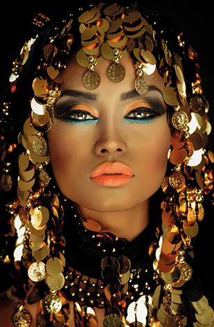 Portrait of an Arabian princess #africanbeauty