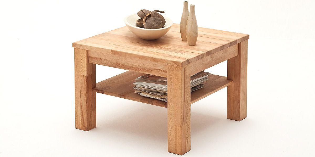 Couchtisch Beistelltisch Paul Kernbuche Massiv Holz Landhaus Stil