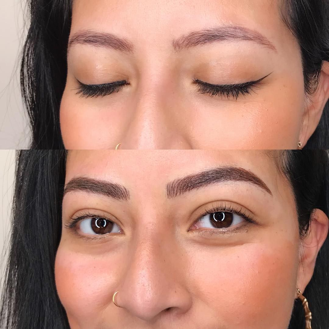 6D microblading process at our New York Microblading