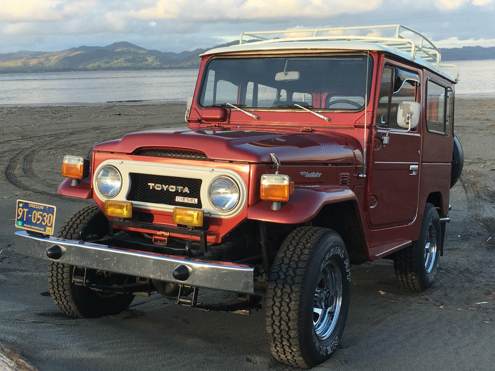 1979 Toyota Land Cruiser BJ40 Diesel | Japanese cars for