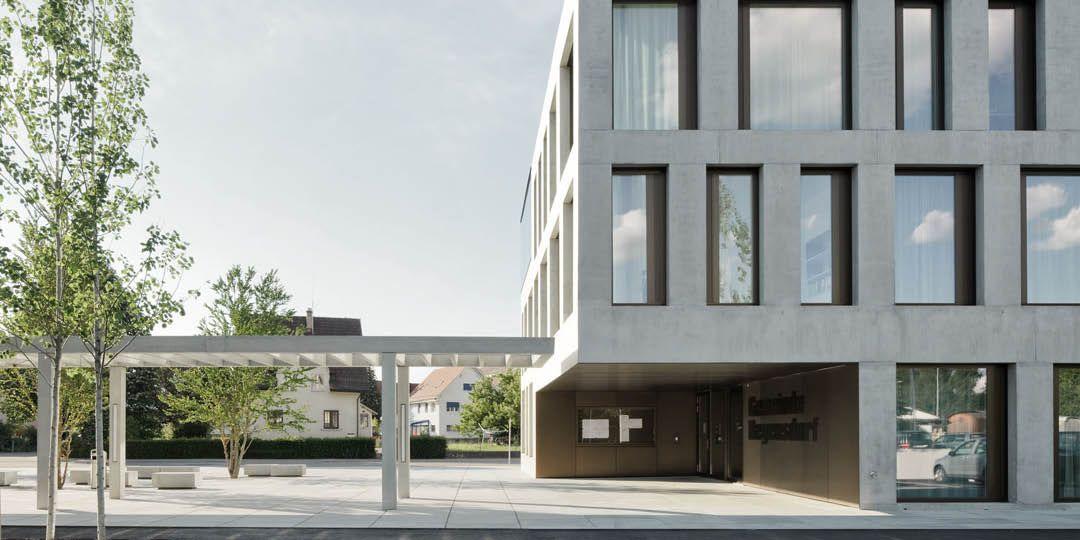 Suche Architekten gemeindehaus regensdorf phalt architekten out side