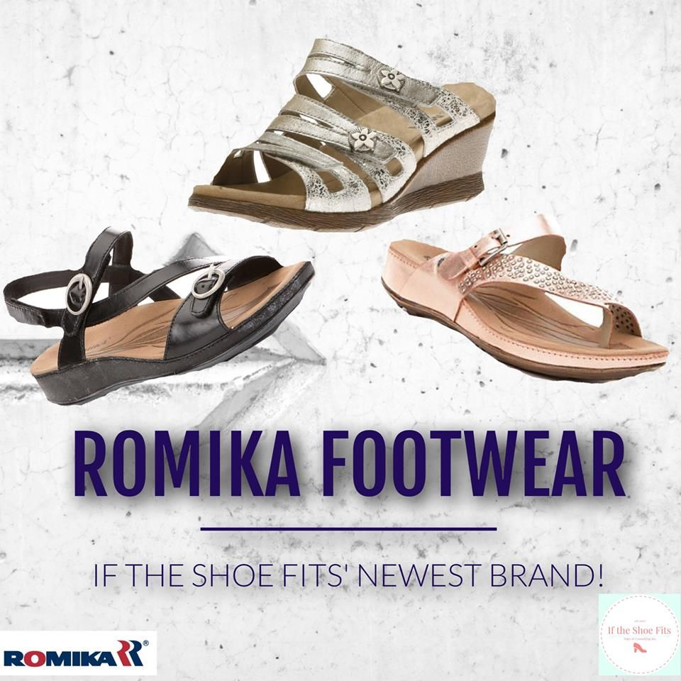 Romika Footwear - Welcome to the family! If the Shoe Fits  e963be152