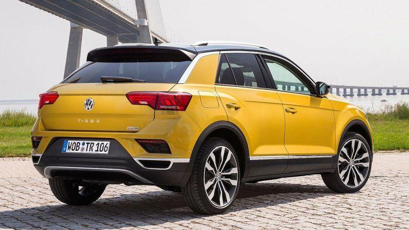 Volkswagen TRoc, problemi, otpada spojler Volkswagen