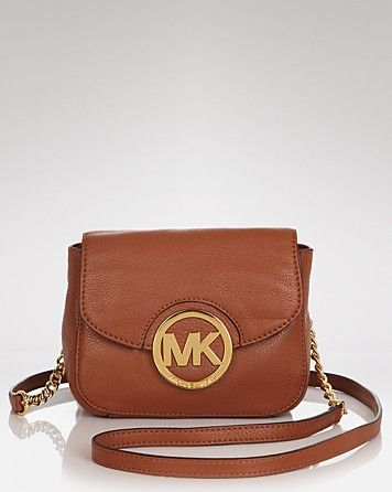 Please yes? MICHAEL Michael Kors Crossbody - Small Leather | Bloomingdale's