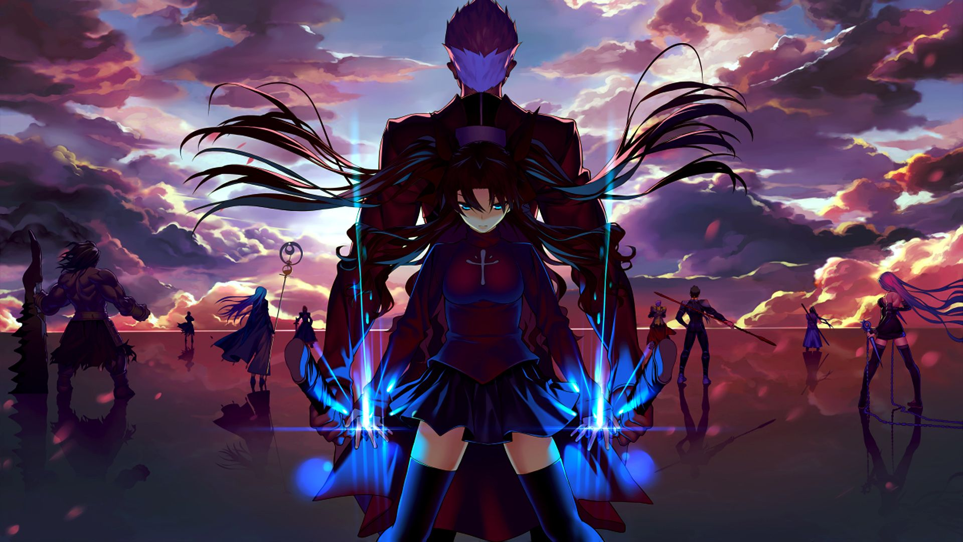 View, download, comment, and rate this 1920x1080 Fate/Stay Night: Unlimited Blade Works Wallpaper - Wallpaper Abyss