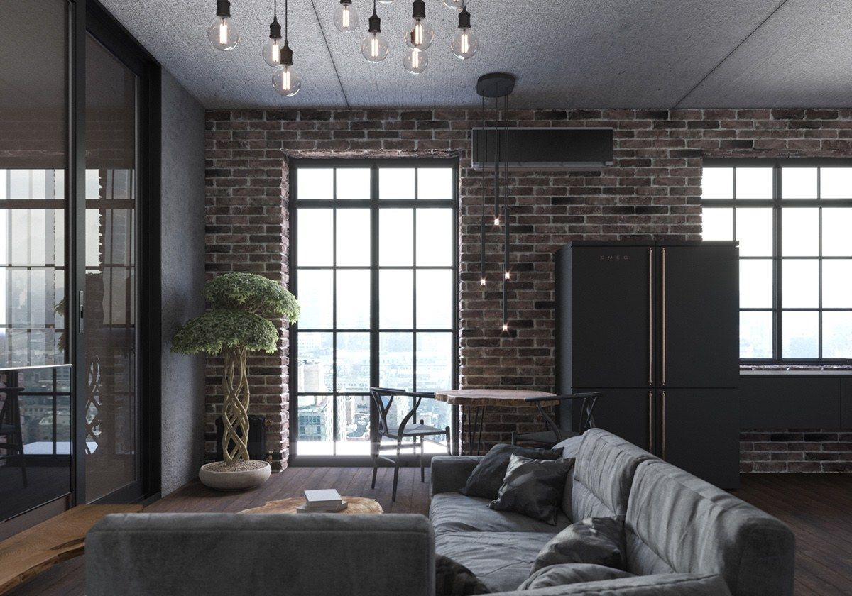 Innenarchitektur wohnzimmer für kleine wohnung schicke kleine studiowohnung die raum großzügig nutzen um es