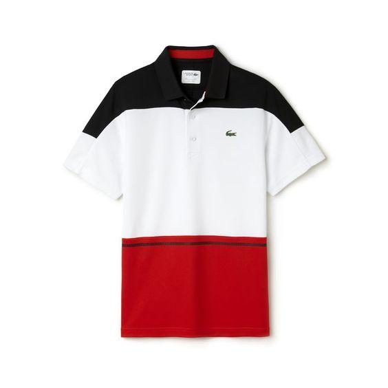 2bfe091ec6dc1 Polo tricolor Tennis Lacoste SPORT em piqué técnico   Polo   Pinterest
