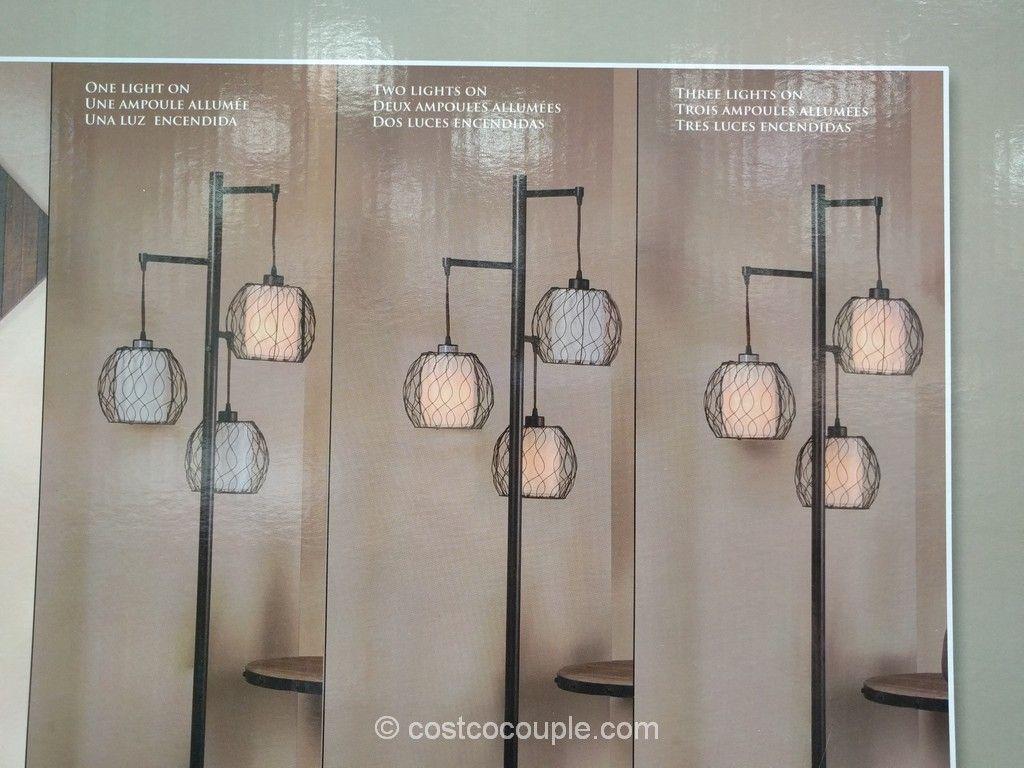 Stylecraft 3 Light Floor Lamp Costco Floor Lamp Floor Lights Lamp