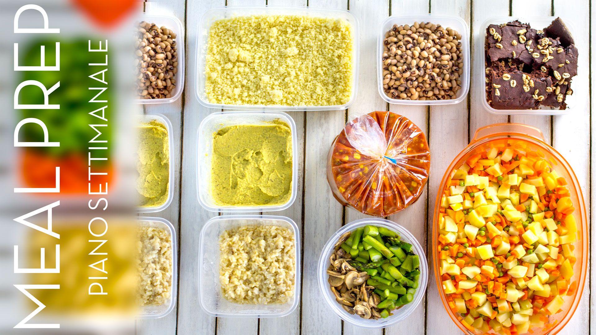 Come Organizzare I Pasti Settimanali menù settimanale vegetariano | come organizzare i pasti #2