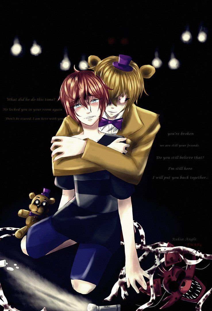 Fredbear and the child | FNAF 4 | Noche, Fandom, FNAF