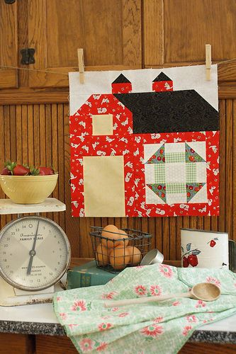block from the Bee in my Bonnet Quilty Barn Along