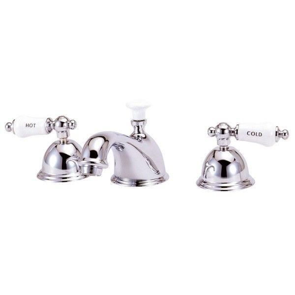 Elizabethan Classics Widespread Lavatory Sink Faucet With Large Magnificent Porcelain Handle Bathroom Faucet Review
