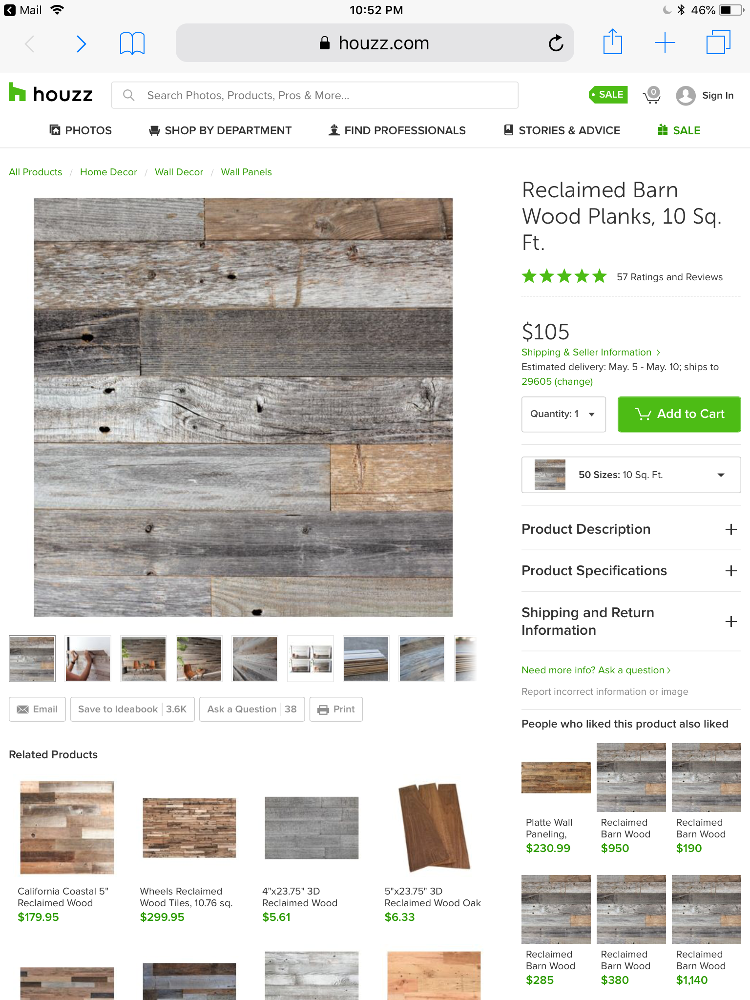 Pin by Sharon Strogen on Home decor | Reclaimed barn wood ...