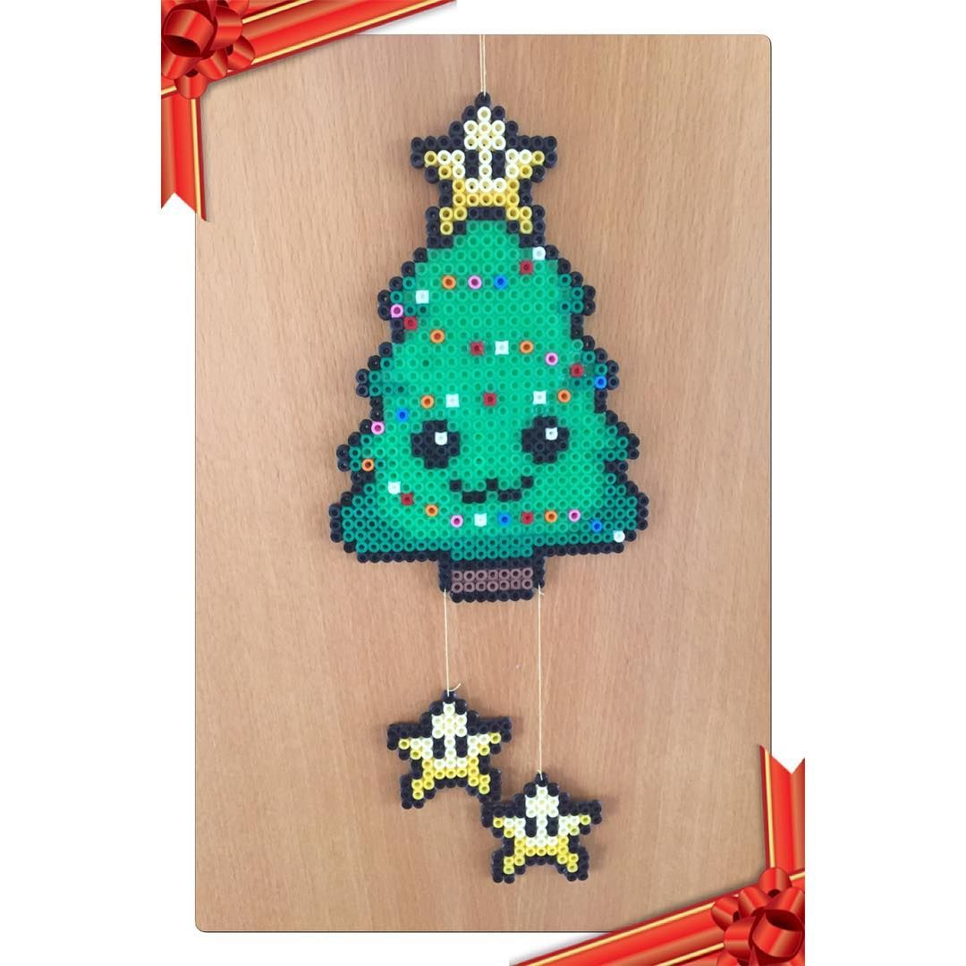 Instagram Photo By Gitte Nielsen Jul 14 2016 At 11 43am Utc Hama Beads Christmas Christmas Perler Beads Hama Beads Design