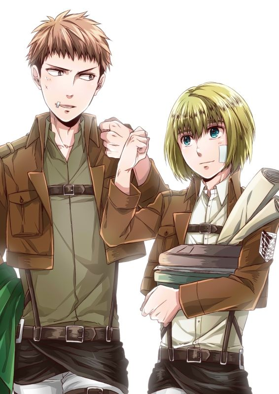 Jean and Armin // AoT