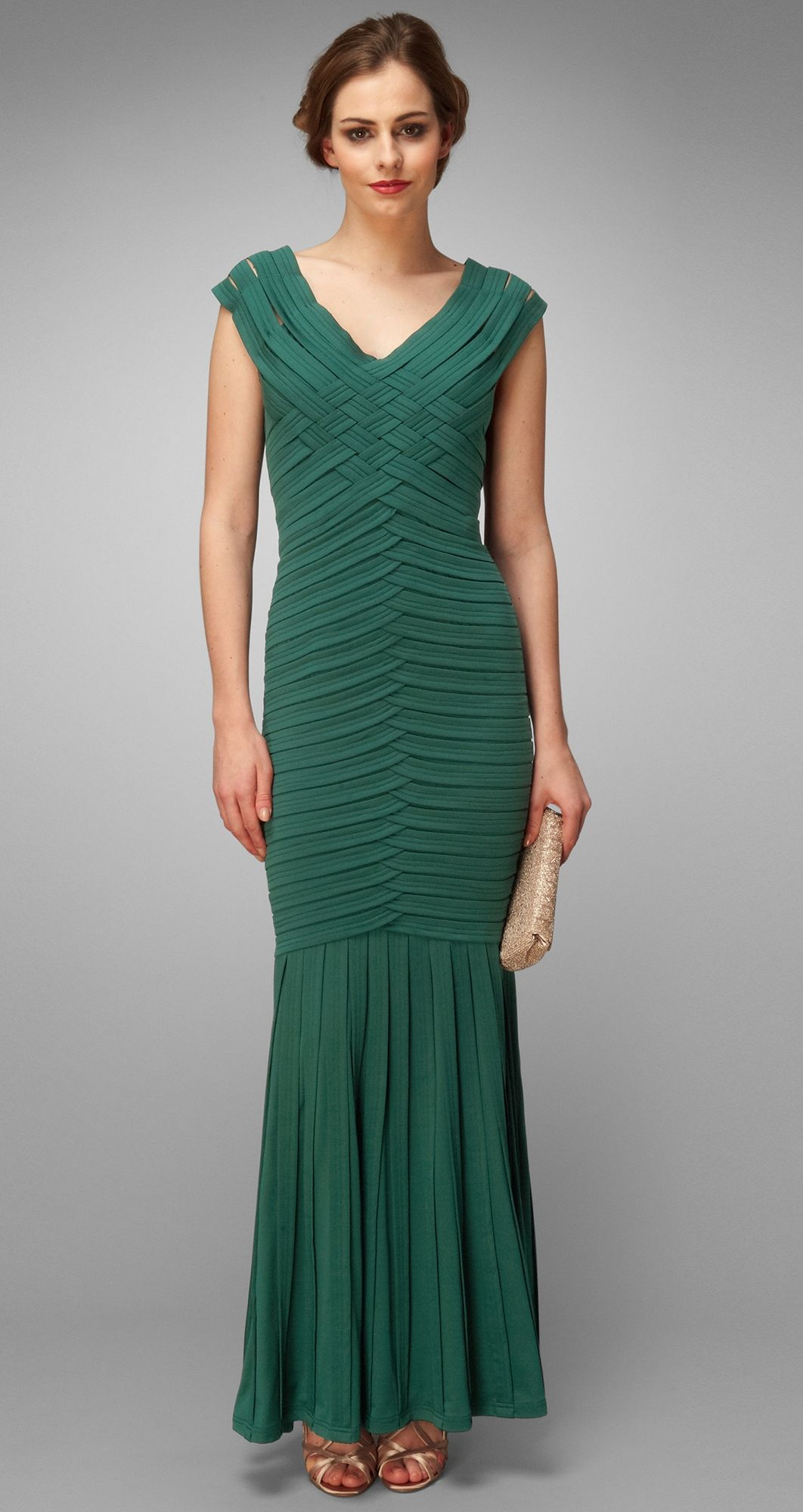 Collection 8 Margherita Criss Cross Fishtail Maxi Dress by Phase ...