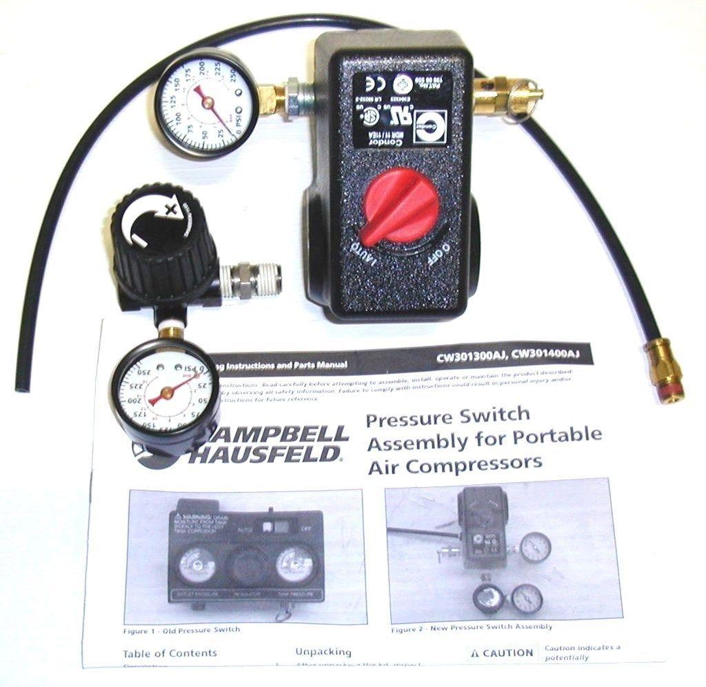 Air Compressors 30506 Campbell Hausfeld Cw301300sj
