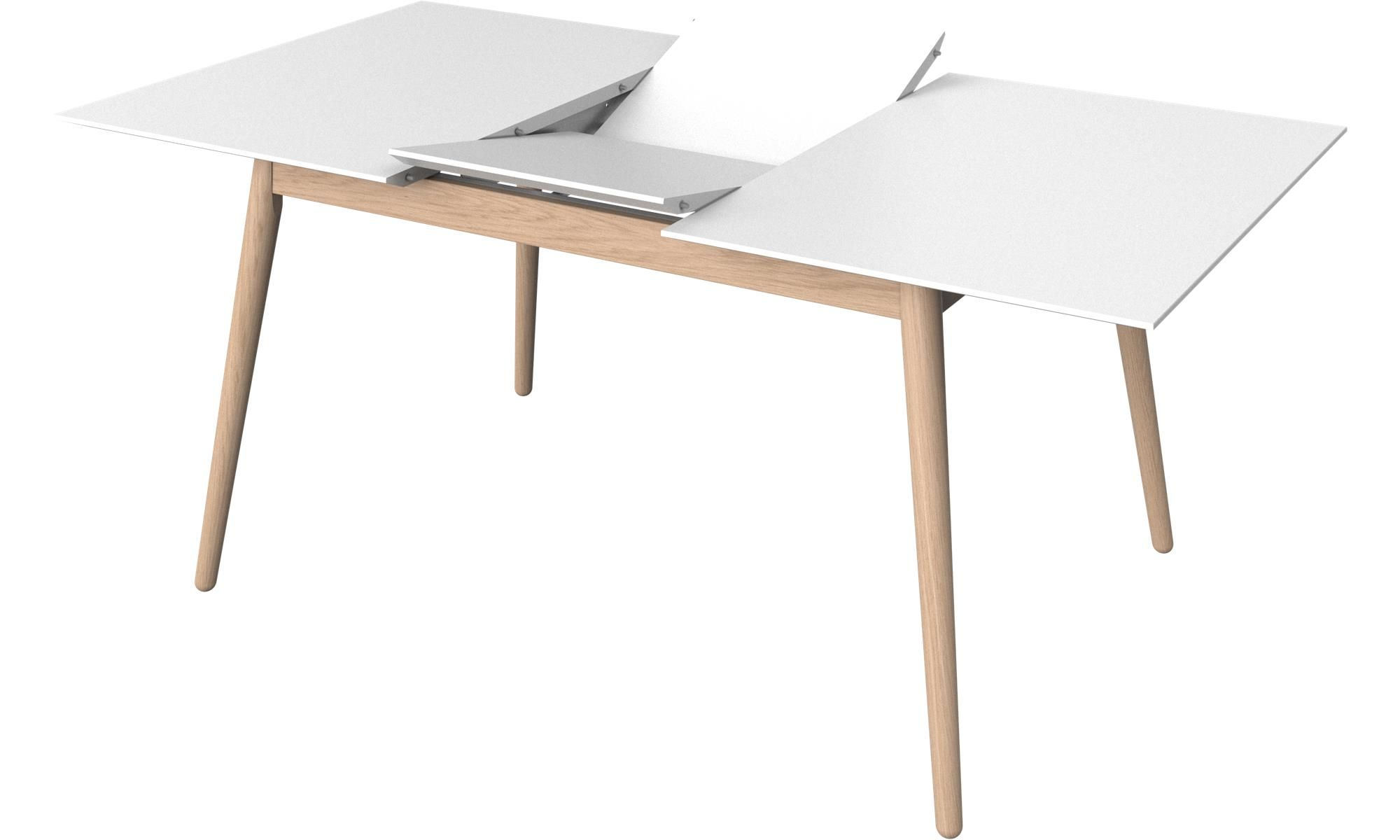 Table carre laque blanc trendy back to post awesome table - Table carree blanc laque avec rallonge ...
