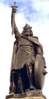King Arthur's statue | Winchester