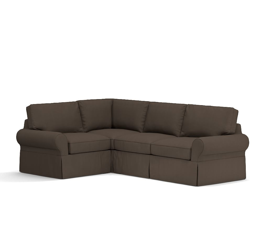 Pb Basic Right Chaise Sofa Sectional Slipcover Furniture Covers