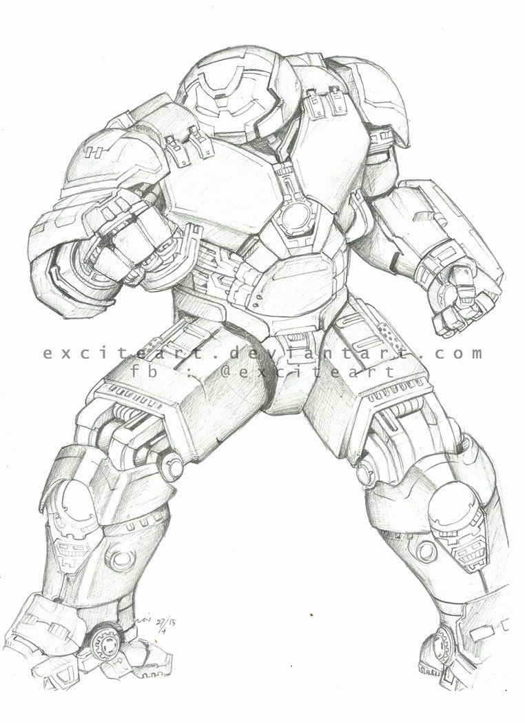 Hulk Buster Coloring Page Beautiful Hulkbuster By Exciteart On Deviantart Super Mario Coloring Pages Ninjago Coloring Pages Lego Coloring Pages