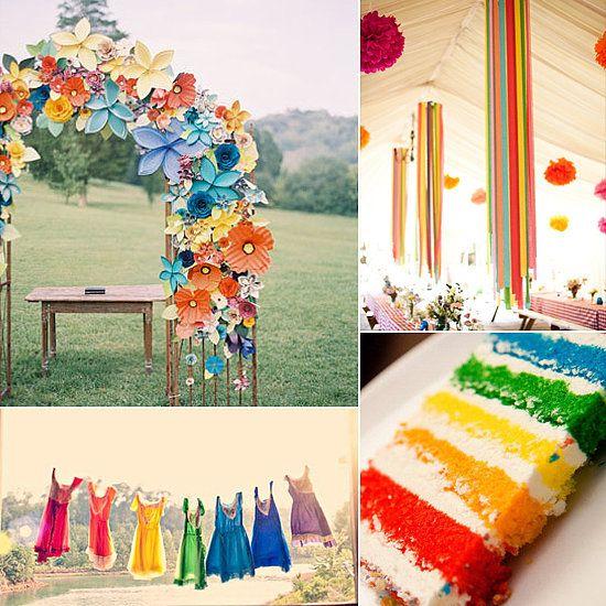 Native American Wedding Gifts: 30 Over The Rainbow Wedding Ideas