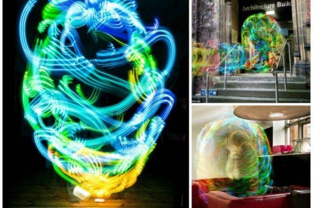La belleza invisible de las redes inalámbricas - ¿Qué pasaría si pudiésemos ver las ondas electromagnéticas de las redes inalámbricas que usamos? - http://2ba.by/173xo (vía I Fucking Love Science)