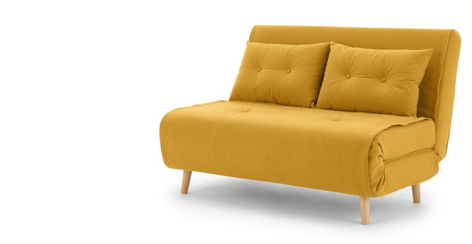Wondrous Made Butter Yellow Sofa Bed In 2019 Small Sofa Sofa Come Onthecornerstone Fun Painted Chair Ideas Images Onthecornerstoneorg