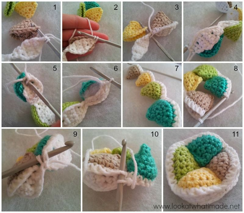 Mini Crochet Amish Puzzle Ball Pattern FREE | Amish puzzle ball ...