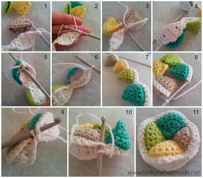 Mini Crochet Amish Puzzle Ball Pattern Free Knitting Weaving
