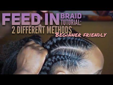 Youtube Feed In Braid Braid Tutorial French Braids Tutorial