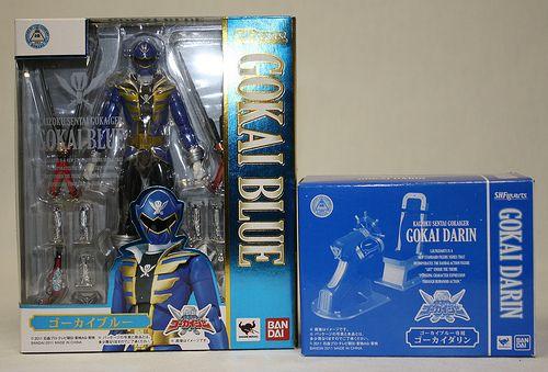 SHF Gokai Blue