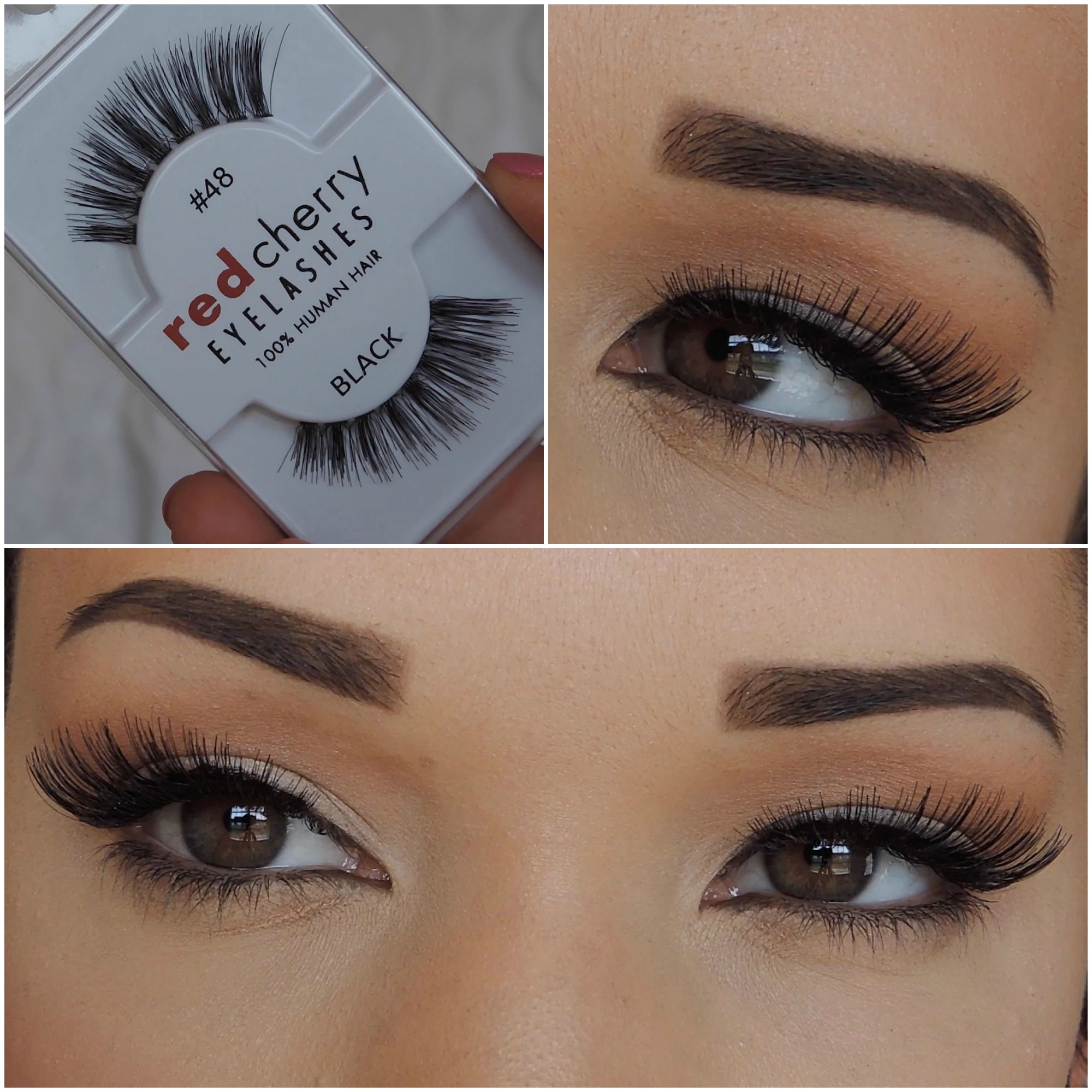 2c5a6f6be6d Red Cherry Lashes | #48 - Darla | BeautyByCMW | Red cherry lashes ...