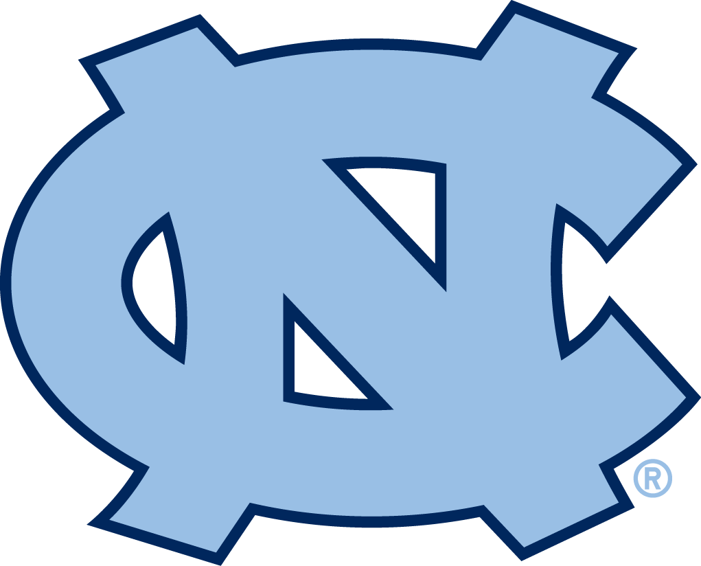 north carolina tar heels primary logo ncaa division i n r ncaa n rh pinterest com tarheel logo download tar heels logo coloring pages