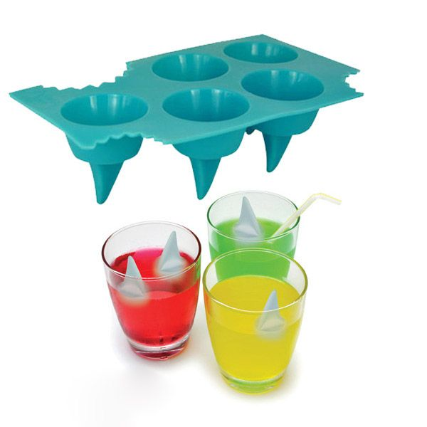 Shark fin ice tray wish list bac gla ons et requin - Requin rigolo ...
