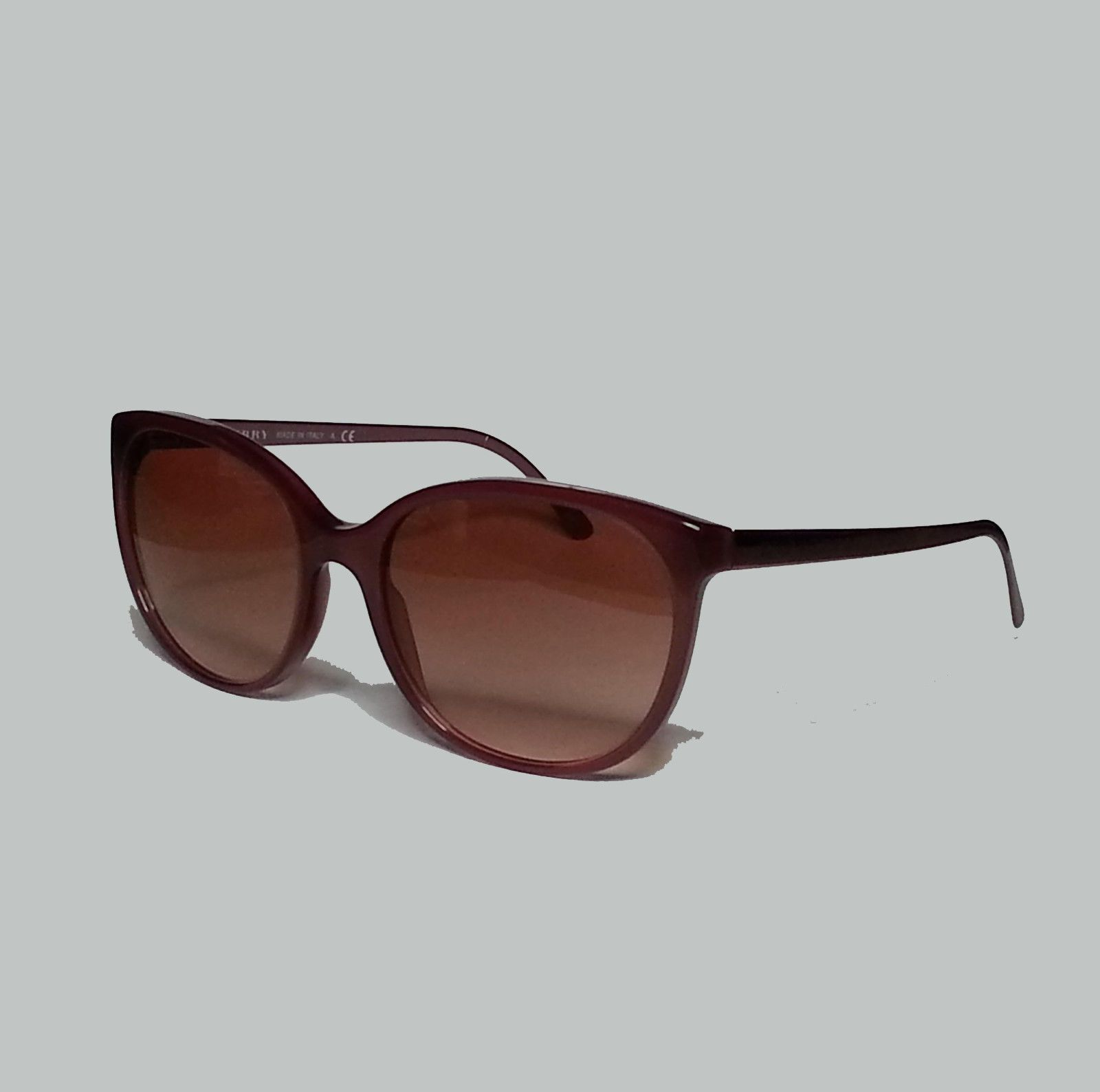 1a82e3568f1f  ebay Burberry women s sunglasses Cat Eye style metal frame made in Italy  B-4146